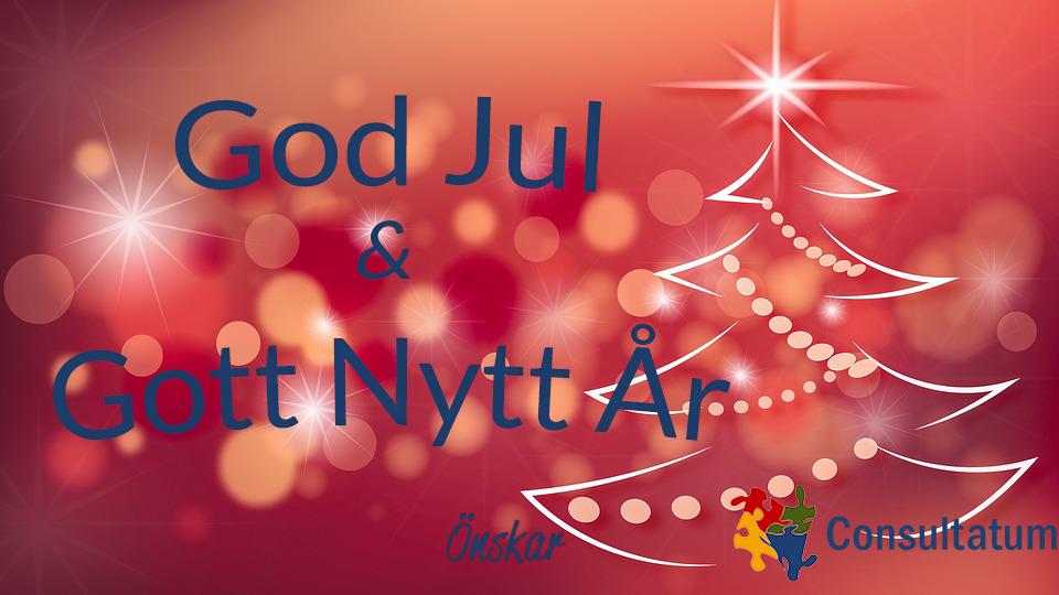 god jul och gott nytt år önskar consultatum